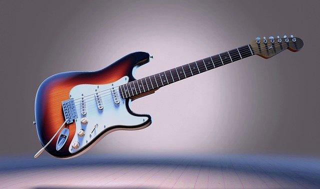 elementy gitary elektrycznej
